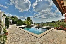 Idyllic sea view finca in Galilea with lots of potential
